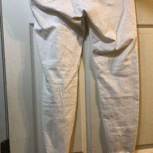 Hue White Jeggings size 14